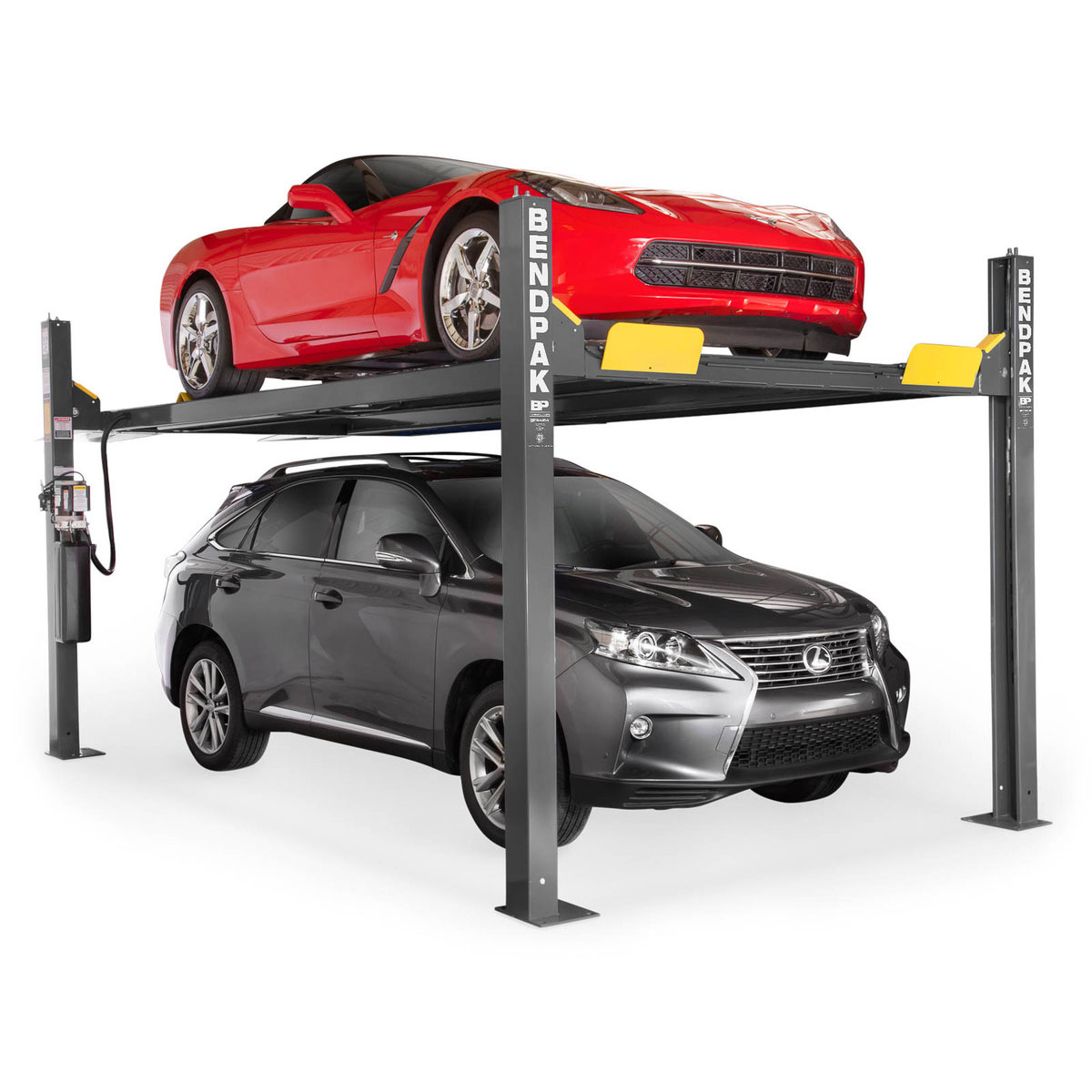 Four-Post vehicle lifts from Babco