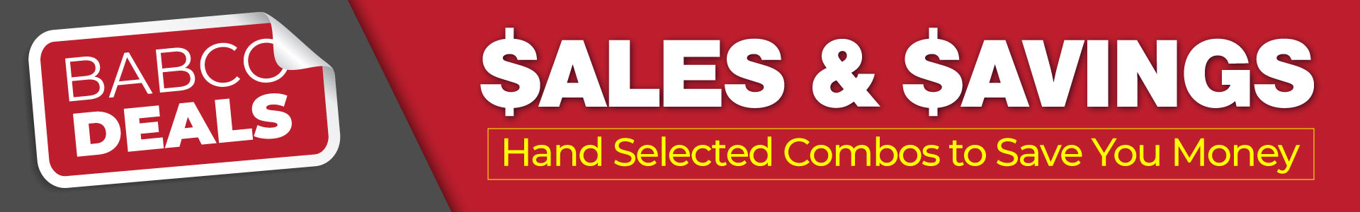 Sales and Savings