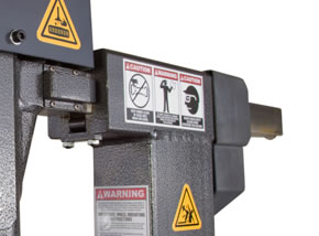 Ranger NEXTGEN Tire Changer Maintenance Free Linear Guide